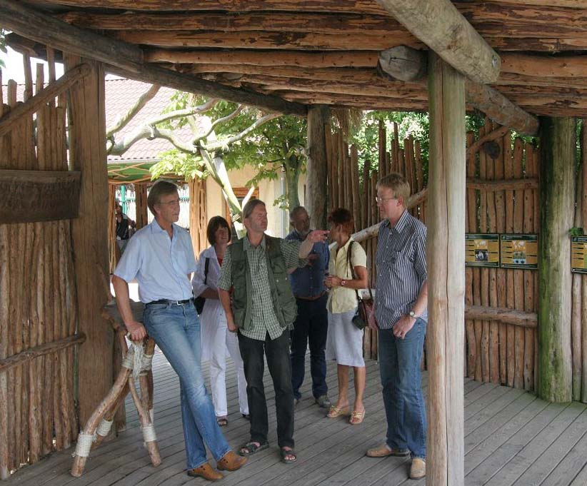 Besuch im Vogelpark Marlow