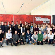 Besuchergruppe aus Ludwigslust